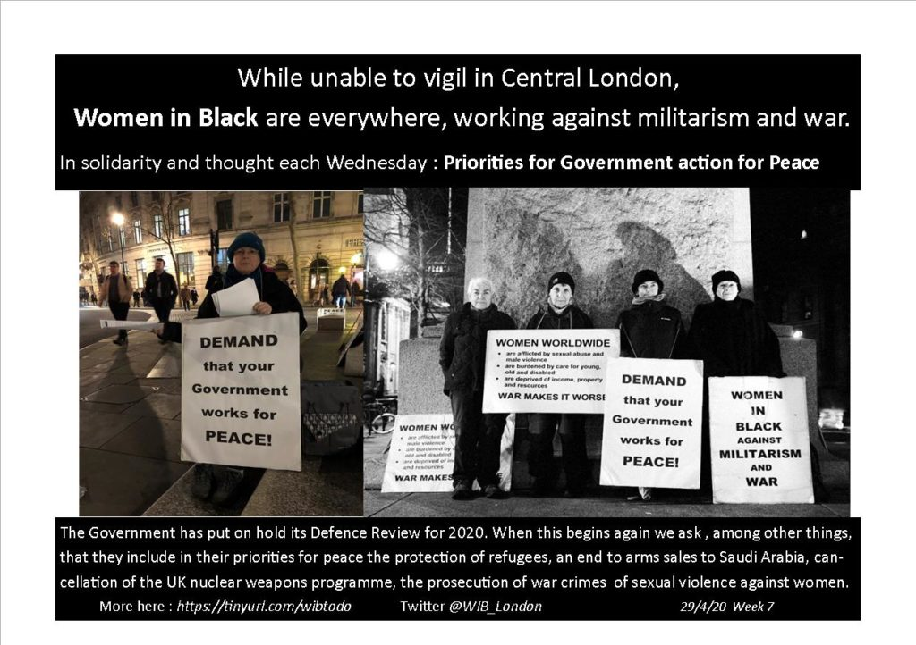 """Photographs, side by side of vigils placing""""to do"""" demainds on governments"""