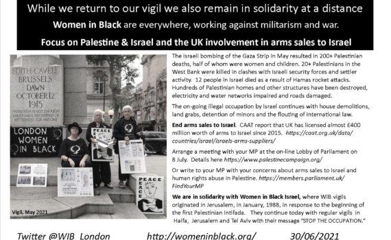 Vigil for Palestine